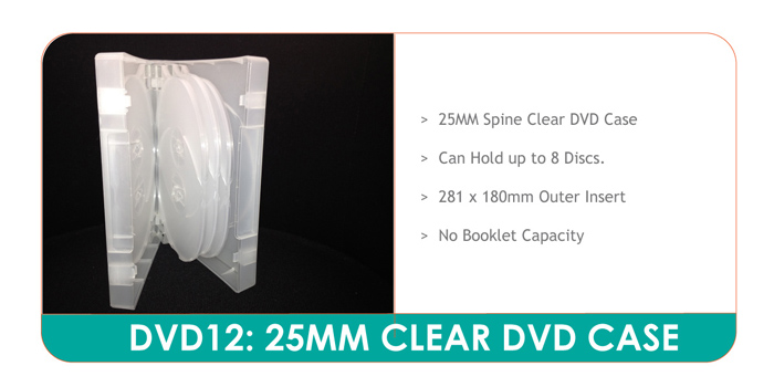 Thick DVD Case for 8 Discs