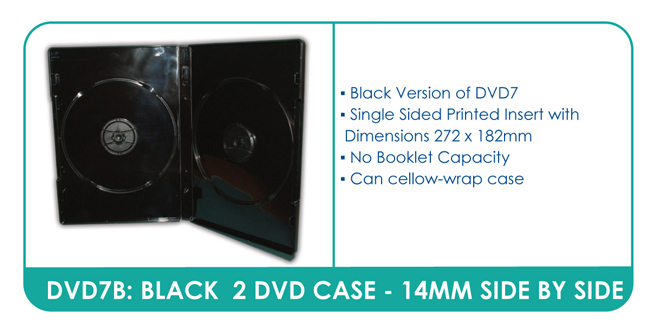 Black Multi DVD Case