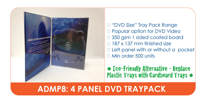 DVD TRAY PACK