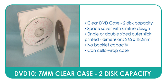Slim Clear DVD Cases